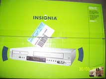 Insignia DVD/VCR Deck with Manual  Record VHS tapes to CD in Eglin AFB, Florida