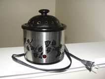 STAINLESS STEEL SIMMER ELECTRIC AROMA THERAPY POTPOURRI POT in Camp Lejeune, North Carolina