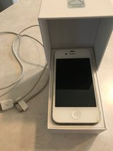 iPhone 4, White, 8GB in Naperville, Illinois