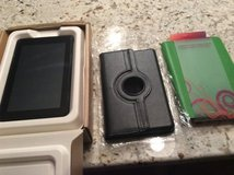 Amazon Kindle Fire with charger and black case hardly any use in Algonquin, Illinois