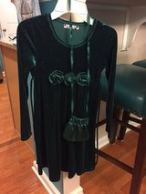 Beautiful Green Dress with Purse in Yorkville, Illinois