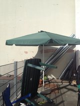 Umbrella Patio +Table in Ramstein, Germany