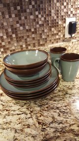 Brown and Blue Dishes in Fort Rucker, Alabama