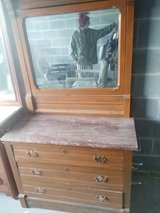 Antique Dresser and Shelf in Fort Benning, Georgia