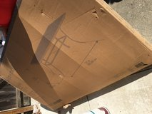Patio table. New in box in Vacaville, California
