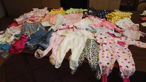 Baby girl clothing lot (35pieces)from 0mo.-3mo. in Ramstein, Germany