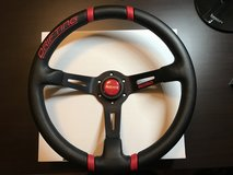 """Authentic"" Momo Drifting 350mm Steering Wheel- Red in Okinawa, Japan"