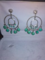 Vintage Sterling and Turquoise earrings in Nellis AFB, Nevada