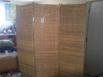 3 Panel Wicker Privacy Screen in Yucca Valley, California