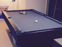Pool Table - w/ Table Tennis Top & all accessories in Elgin, Illinois