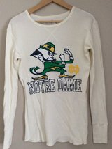 Retro Brand Norte Dame long sleeve cotton shirt size XS in Plainfield, Illinois