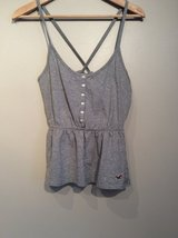 """Hollister""grey tank top size S in Plainfield, Illinois"
