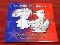 2003 Legacies Of Freedom Silver Bullion Set in Fort Leonard Wood, Missouri