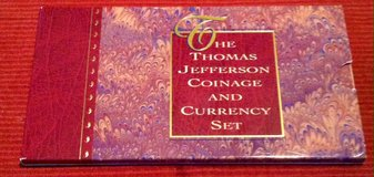1993 Thomas Jefferson Coinage And Currency Set in Fort Leonard Wood, Missouri