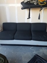 2 black couches in Travis AFB, California