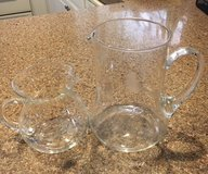 Princess House set of 2 Pitchers in Camp Pendleton, California