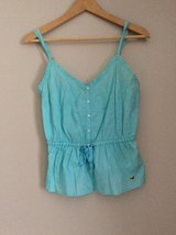 Hollister blue shirt  size M in Plainfield, Illinois