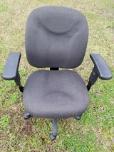 Charcoal Gray /  Adjustable Arm / Height & Back Contour Office Chair in Fort Campbell, Kentucky