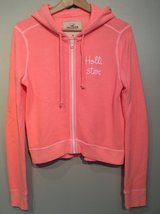 Hollister short hoodie size M in Plainfield, Illinois