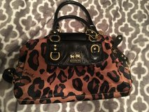 Leopard Coach Purse in Beaufort, South Carolina