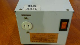 US to Japanese voltage in Okinawa, Japan