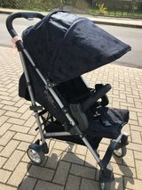 Stroller Cybex, special edition, designed by lala Berlin (jeans blue with stars) in Wiesbaden, GE