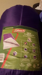 Coleman adult sleeping bag in Leesville, Louisiana