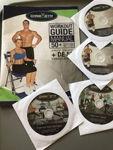 Chair Gym with 4 video workouts in Camp Lejeune, North Carolina