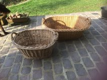 2 antique big baskets from France in Ramstein, Germany