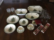 Spode Christmas Tree Collection in Lockport, Illinois