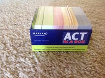 Kaplan ACT Flashcards. in Sugar Grove, Illinois