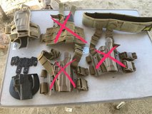 Various Holsters in 29 Palms, California