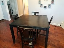 Bar height table and 4 chairs in Lake Elsinore, California