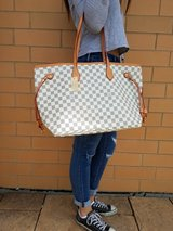 Never Full Damier Azure Bag in Batavia, Illinois
