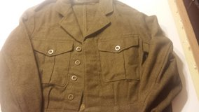 Womens WW2 British Military Jacket wore in several movies in Dothan, Alabama