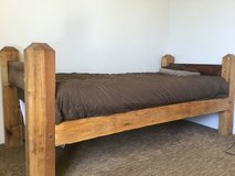 Twin bed, Mortise and Tenon hand made bed in San Diego, California