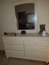 Elegant Vanity and Armoire in Fort Carson, Colorado