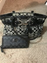 Authentic Coach Purse with Wallet in Tacoma, Washington