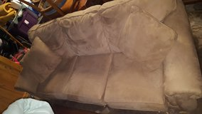 Very Comfortable Suede Couch in Kingwood, Texas