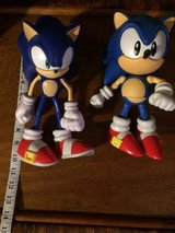 2 large Sonic 20th anniversary collectors figures in Camp Lejeune, North Carolina