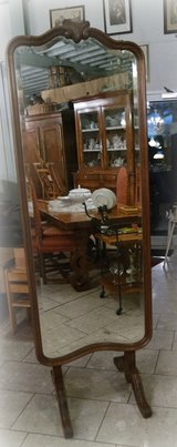 elegant Louis XV style mirror - with hand carved frame in Baumholder, GE
