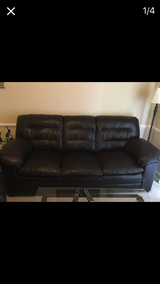 Ashley's Leather Couch in Dothan, Alabama