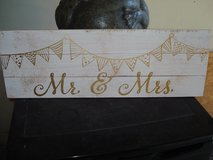 """Mr & Mrs"" Wedding Sign in Macon, Georgia"