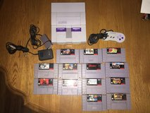 Super Nintendo with 13 fun Games!!! in Fort Leonard Wood, Missouri
