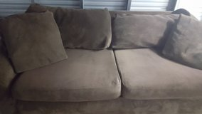 Couch/Love Chair/Ottoman for Sale in Fort Lewis, Washington