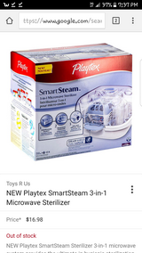Playtex bottle steam sterilizer in Hinesville, Georgia