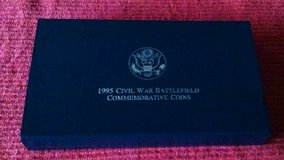 1995S Civil War Battlefield Preservation Commerative Proof Coin Set in Fort Leonard Wood, Missouri