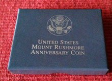 1991S Mount Rushmore Golden Anniversary Proof Half Dollar in Fort Leonard Wood, Missouri