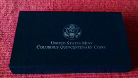 1992D Christopher Columbus Quincentenary Uncirculated Coin Set in Fort Leonard Wood, Missouri