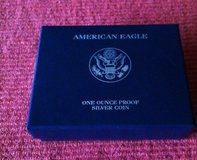 2008W American Eagle Proof Silver Coin in Fort Leonard Wood, Missouri
